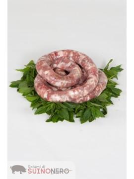 Salsiccia Fresca di Suino Nero 1 kg.